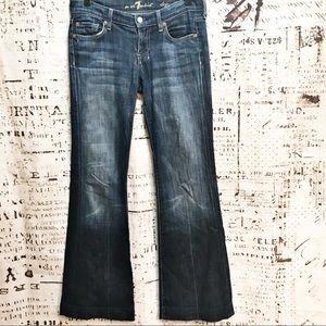 7 For All Mankind Dojo Flare Jeans Dojos Wide Leg